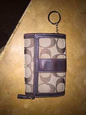 Small Coach Wallet for Sale in Chandler, TX