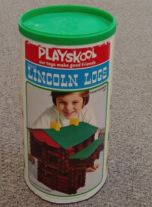 Vintage Playskool Original Lincoln Logs for Sale in Burlington, NC