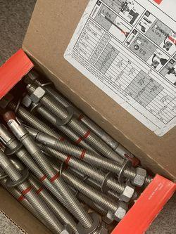 HILTI KB-TZ SS304 1/2x7 (Count 40) for Sale in Clovis,  CA