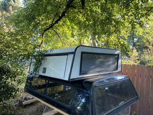 White Ram 1500 5'7 aluminum construction camper shell for Sale in Dallas, TX