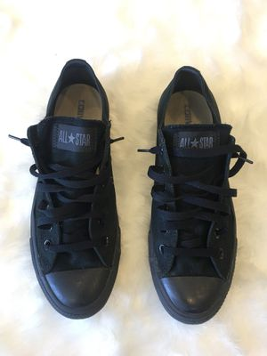 All Black Converse All-Star Chuck Taylor's - Men's Size 8 for Sale in Denver, CO