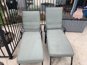 Pool Lounge Chairs, Pool Chair, Lounger, Reclining Chair for Sale in Tempe, AZ