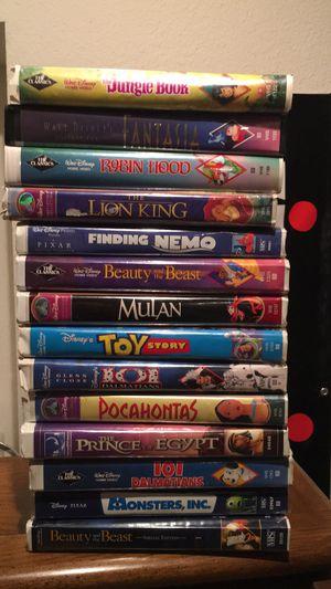Disney vhs tape lot for Sale in Clovis, CA
