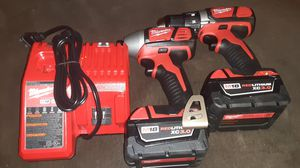 Milwaukee drill set 18v new for Sale in Berwyn Heights, MD