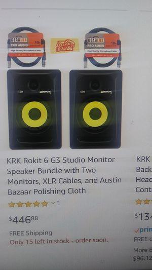 Krk Rokit 6 pair for Sale in Chula Vista, CA