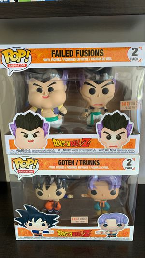 Dragonball Z Goten/Trunks and Failed Fusions for Sale in Temecula, CA
