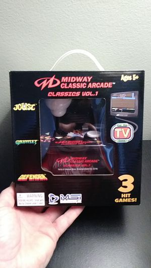 Plug and Play Midway Classics arcade for Sale in Allen Park, MI