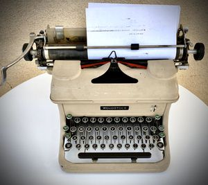 Woodstock typewriter antique 1930s works! for Sale in Sacramento, CA