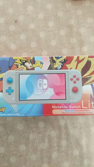 Special edition Nintendo switch lite pokemon sword and shield for Sale in Chino, CA