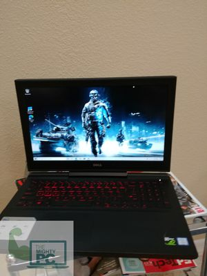 Dell inspiron 15 7000 gaming laptop Intel i5 7th gen 16gb ram 256gb SSD thin and light design for Sale in Chandler, AZ