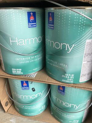 Interior paints - 4 semi gloss and 4 flat white for Sale in Lithia Springs, GA