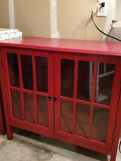 2 Red Cabinets for Sale in Puyallup,  WA