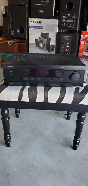 Sherwood RX-4109 2 Channel 100 Watt AM/FM Phono Stereo Receiver - WORK for Sale in Mableton, GA
