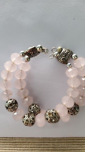 Little girls light pink open bracelet for Sale in Aurora, IL