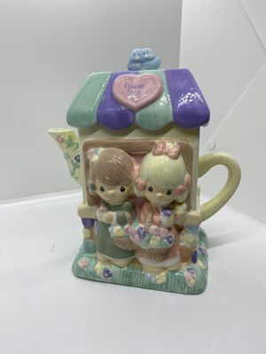 Precious moments teapot for Sale in Indianapolis, IN