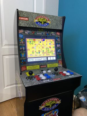Street fighter 1up arcade Rare for Sale in Henderson, NV