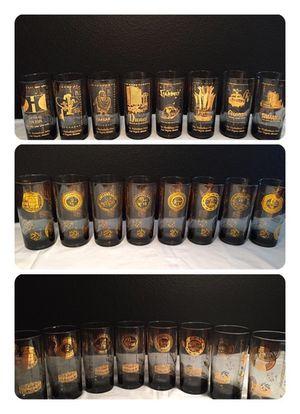 Rare 60s Las Vegas Casino highball bar glasses for Sale in Orlando, FL