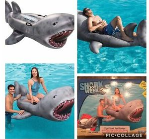 Tiger shark pool lounge float new for Sale in Waco, TX