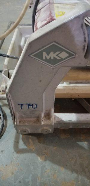 MK Diamond 770 wet saw for Sale in Dallas, GA