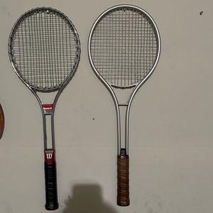 Wilson And Speed Tennis Rackets for Sale in Elk Grove, CA