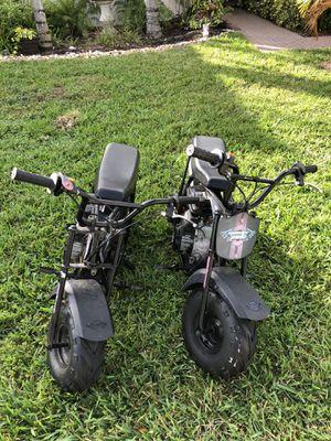 Black Mini Bikes 2 for Sale in West Palm Beach, FL