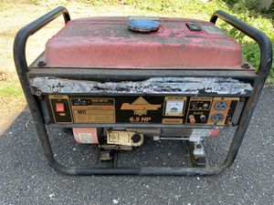 Generator. Needs work. It turn on last summer. Need a carb I need. Don't know nothing about it for Sale in Browns Mills, NJ
