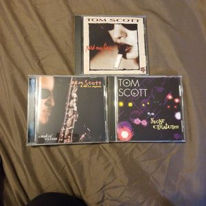 Tom Scott 3 Disc Collection for Sale in Cleveland, OH