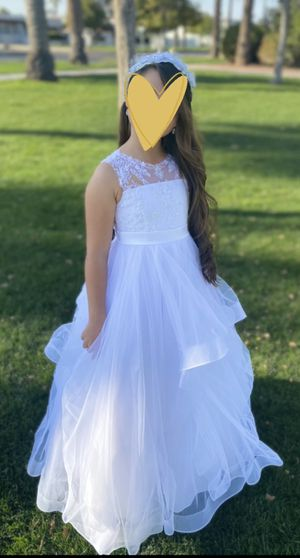 Flower girl/ first communion dress for Sale in Goodyear, AZ