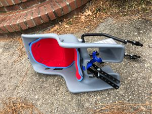 Bike seat for kids - Fits beach cruisers w/rack for Sale in Virginia Beach, VA