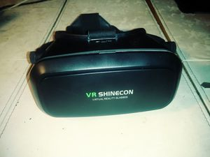 VR shinecon virtual reality glasses for Sale in Bradenton, FL