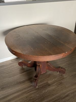 Wooden antique dining table for Sale in Chandler, AZ