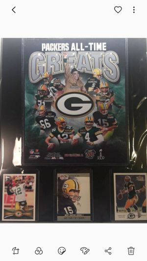 Greenbay packers all time greatest plaque for Sale in CTY OF CMMRCE, CA