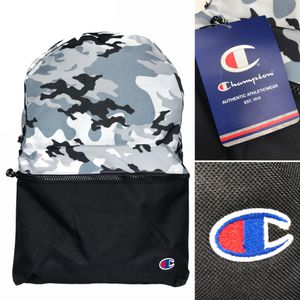 New. Champion grey camouflage Backpack travel work school book bag for Sale in Los Angeles, CA