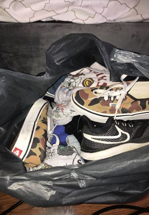 Big bag of kid clothes and shoes for Sale in Riverside, CA