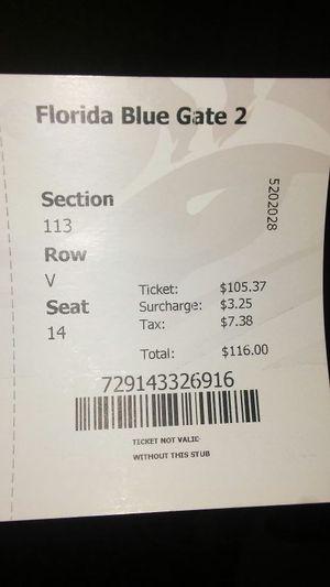 Jags ticket for Sale in Jacksonville, FL