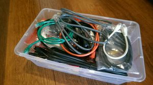 30+ various computer cables Ethernet cat5 cat6 for Sale in Vancouver, WA
