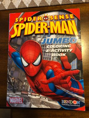 Spider-man jumbo coloring and activity book for Sale in Columbia, MO