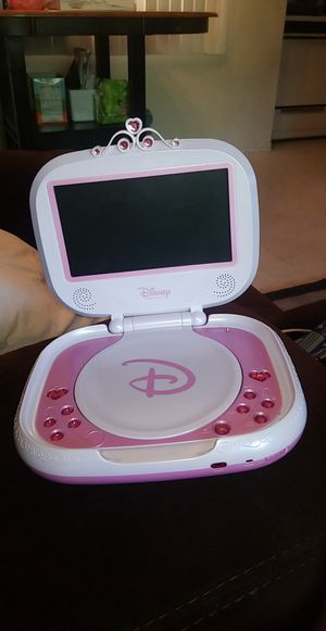 Disney Princess portable dvd player for Sale in Los Angeles, CA