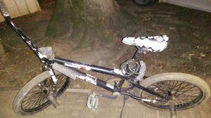 Nice black Bmx bike custom with skulls for Sale in Hardy, VA