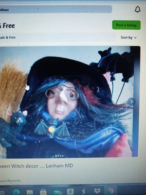 "18"" Halloween Witch for Sale in Glenarden, MD"