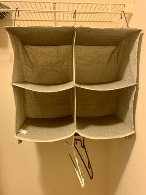 Multipurpose 4 shelf closet organizer for Sale in Daniels, MD