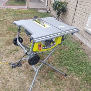 Table Saw Ryobi 10 In for Sale in Houston, TX