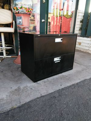 2 Drawer File Filing Cabinet Organizer (has key) for Sale in Escondido, CA