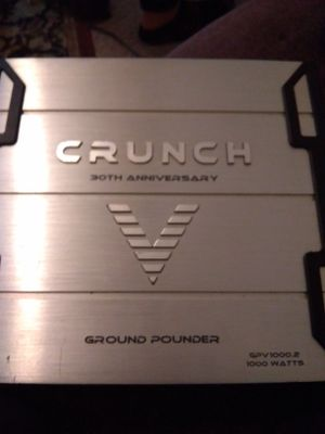 Crunch 30 th anniversary ground punch amplifier for Sale in Austin, TX