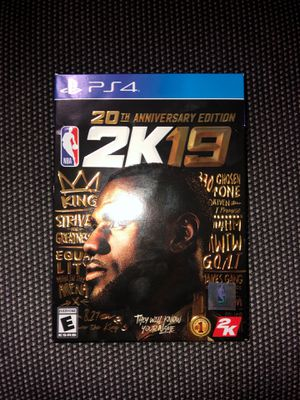 NBA 2K19 PS4 for Sale in Silver Spring, MD