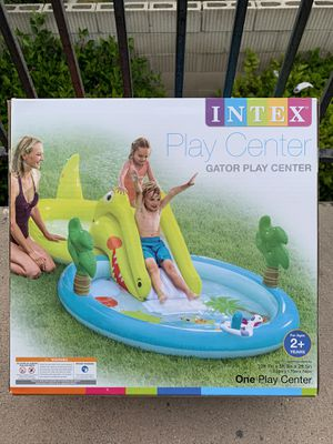 NEW INTEX GATOR PLAY CENTER *LAST ONE SUPER HARD TO FIND NEW IN BOX 📦 for Sale in Buena Park, CA