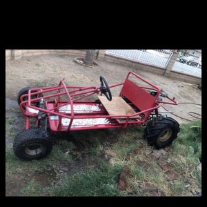 Go Kart Atv Rear Wheels And And Shocks Rear And Front I'm Asking 500 Obo Good Condition Ready To Run for Sale in La Puente, CA