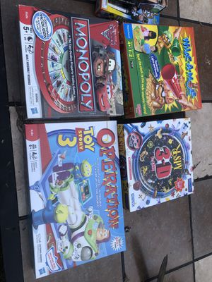 Younger kid board games for Sale in Hillsboro, OR