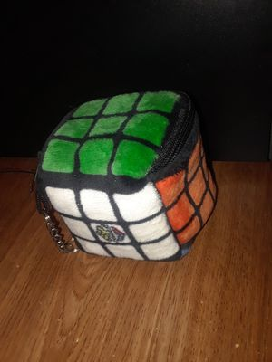 Rubik's Cube soft plush zipper keychain for Sale in Riverside, CA
