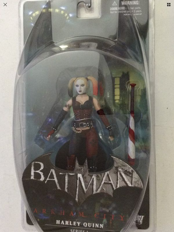 Batman - Arkham City - Harley Quinn - Series 1 - Dc Direct - Collector Action Figure - Brand New - Exclusive Toys